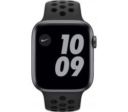 Watch Nike Series 6 44mm Space Gray Aluminium Zwarte Sportband Apple