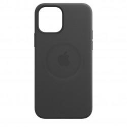 iPhone 12 Pro Max Leren hoesje met MagSafe Black