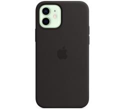 Siliconenhoesje MagSafe iPhone 12/12 Pro Zwart Apple