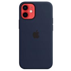 Siliconenhoesje met MagSafe voor iPhone 12 mini Blauw   Apple