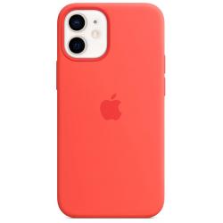 Siliconenhoesje met MagSafe voor iPhone 12 mini Citrusroze  Apple