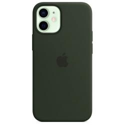 Siliconenhoesje met MagSafe voor iPhone 12 mini Groen  Apple
