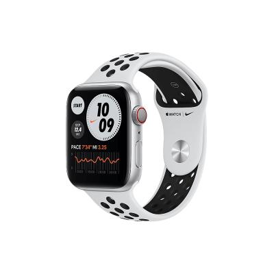 Apple Watch Nike Series 6 GPS + Cellular 40mm Silver Aluminium Case with Pure Platinum/Black Nike Sport Band - Regular  Apple