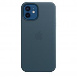 Leren hoesje met MagSafe voor iPhone 12 | 12 Pro - Baltisch blauw Apple