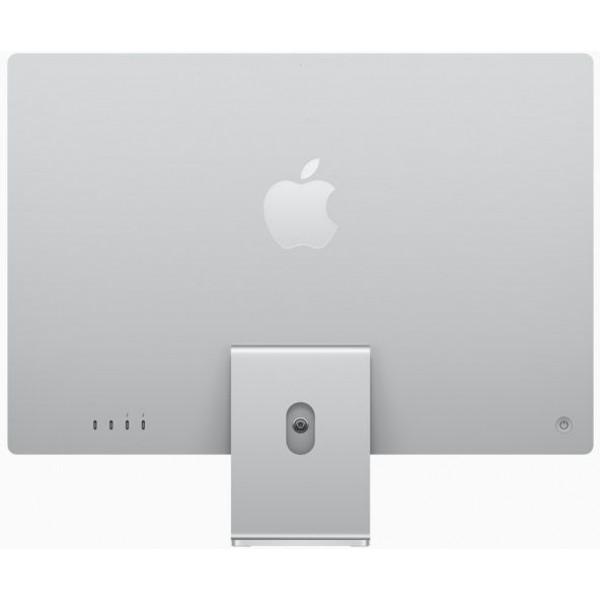 Apple Desktop 24-inch iMac Retina 4.5K display M1 chip 8core CPU 8core GPU 512GB Silver