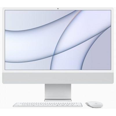 24-inch iMac Retina 4.5K display M1 chip 8core CPU 8core GPU 512GB Silver Apple