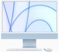 24-inch iMac Retina 4.5K display M1 chip 8core CPU 7core GPU 256GB Blue Apple
