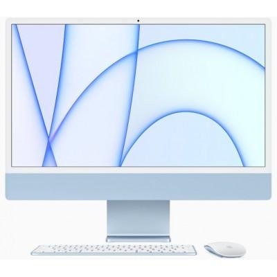 24-inch iMac Retina 4.5K display M1 chip 8core CPU 8core GPU 512GB Blue Apple