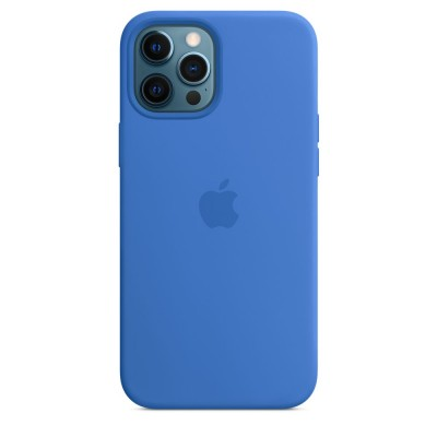 iPhone 12 pro max sil case ms blue  Apple