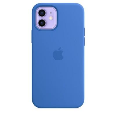 iPhone 12 (pro) sil case ms blue  Apple