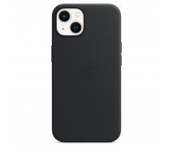 Leren hoesje met MagSafe voor iPhone 13 - Middernacht Apple