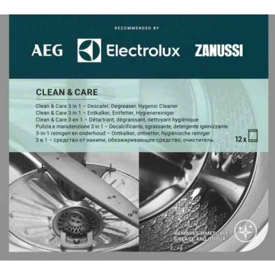 M3GCP400 Clean and Care - 3 in 1 (12 stuks) AEG