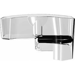Waterreservoirsteun met antikalkpatroon