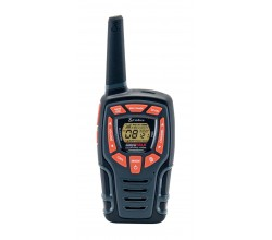 AM845 walkie talkie Adventure 2-pack zwart Cobra