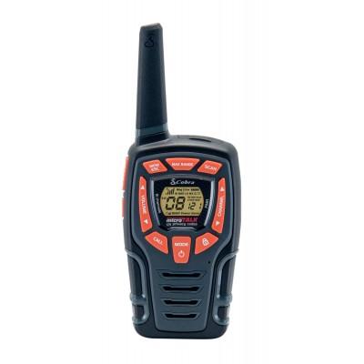 AM845 walkie talkie Adventure 2-pack zwart  Cobra