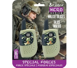 HM230G walkie talkie Hero Special forces 2-pack groen Cobra