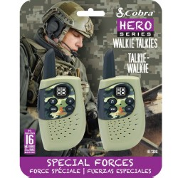 HM230G walkie talkie Hero Special forces 2-pack groen  Cobra