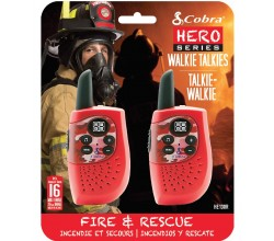 HM230R walkie talkie Hero Fire & rescue 2-pack rood Cobra