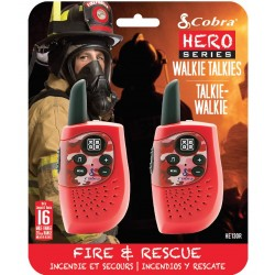 HM230R walkie talkie Hero Fire & rescue 2-pack rood  Cobra