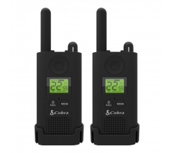 PU500 BG walkie talkie pro business radiopaar zwart Cobra