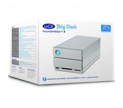 2big Dock Thunderbolt 3 20TB Lacie