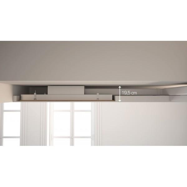 6820 Plafonddampkap Pure'line Compact 120 cm Inox  Novy
