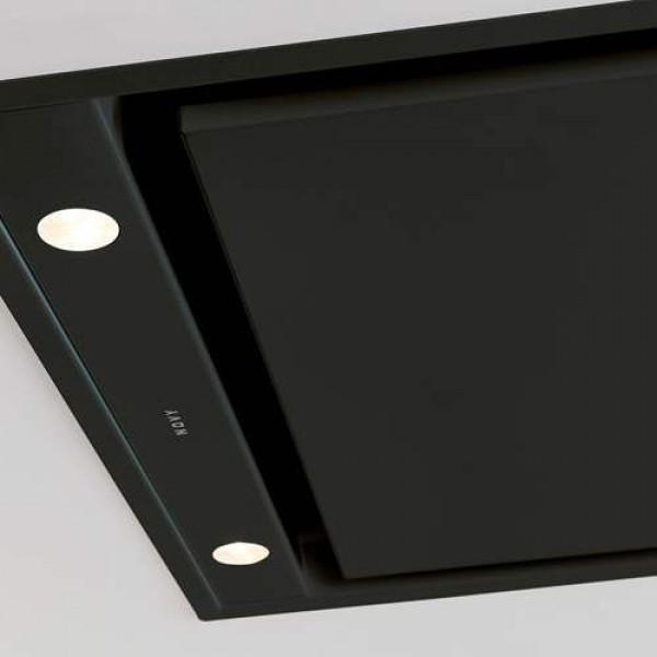 6812 Plafonddampkap Pure'line Compact 90 cm Zwart  Novy