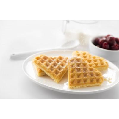 142355 Plates Heart shaped Waffle