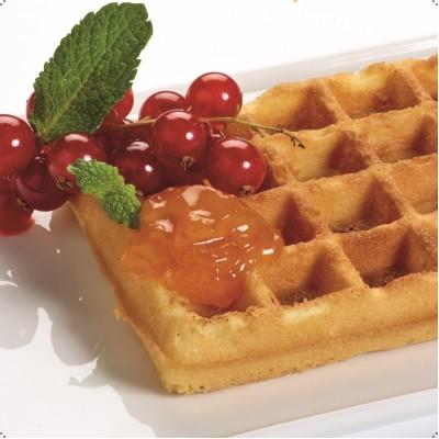 142351 Plates Belgian Waffles 4x7