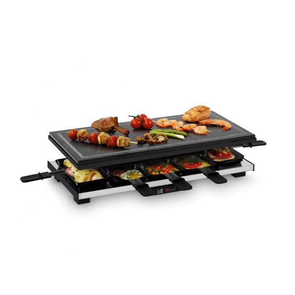 SG 3180 Stone Grill Raclette Fritel