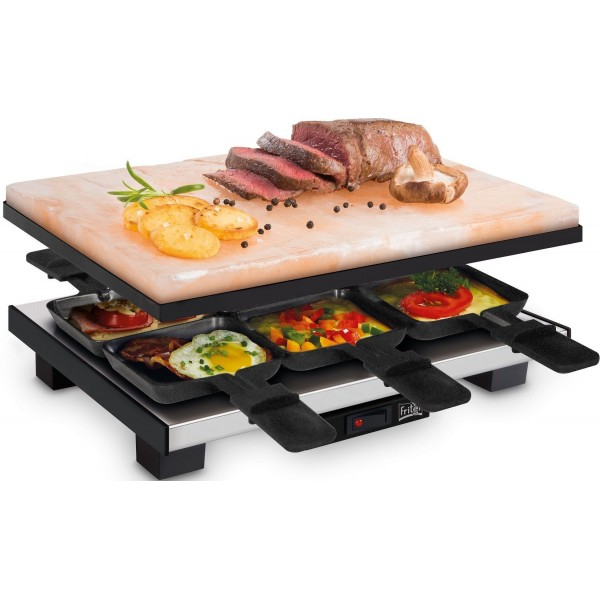 SR 3150 Zoutsteen Raclette & Grill Fritel