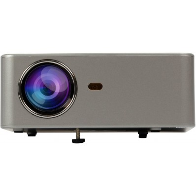 LED Beamer HD 2200 lumen Miracastgrijs