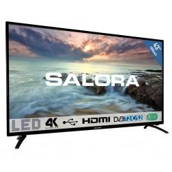 """43""""/109cm LED TV UHDzwart  Salora"""