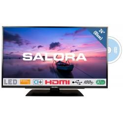 "24""/61cm LED TV HD DVDzwart  Salora"