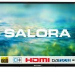 "40""/101cm LED TV Full HD CI+ zwart  Salora"