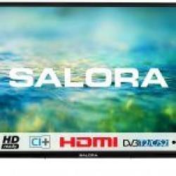 "24""/61cm LED TV HD CI+ zwart  Salora"