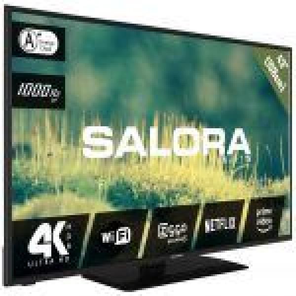 """43EUS2204 43""""/109 cm SMART LED TV 4K zwart"""