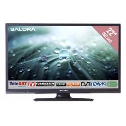 "22LED9109CTS2 22""/56 cm travel TV 12/230 Volt zwart  Salora"