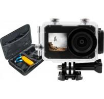 Action Cam UHD Dubbel Scherm + Action Cam Pack