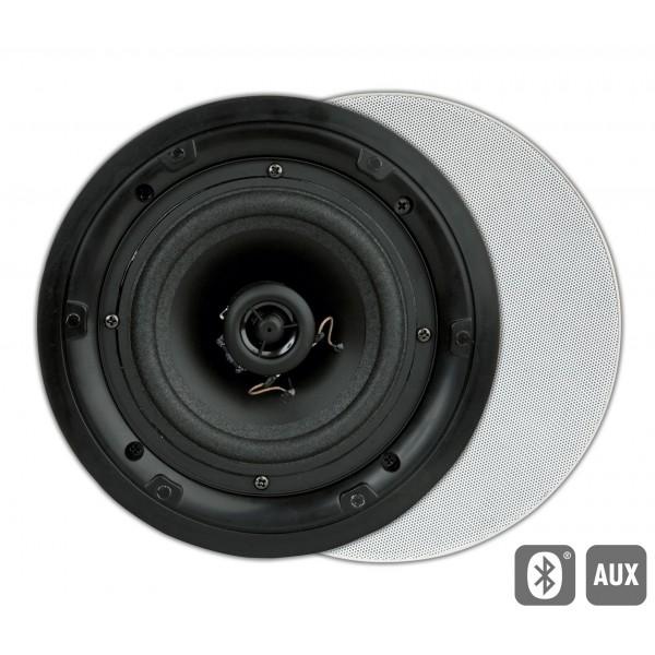FL501BT Flat actieve inbouw LS AUX/BT rond wit (2pc) Art Sound