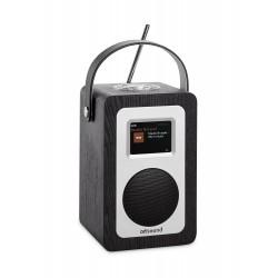 R4B portable radio Wifi/internet/FM/DAB+ zwart