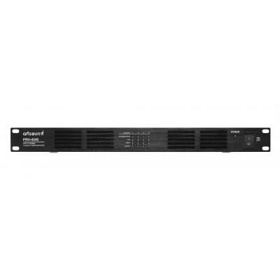 PRH-4240 eindversterker 100V 4x 240W class D 1U  Art Sound