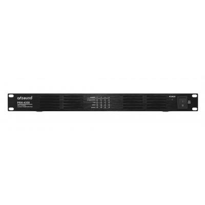PRH-4350 eindversterker 100V 4x 350W class D 1U  Art Sound