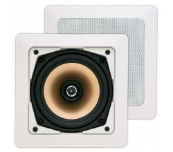 SQ525.2 x-tended 2-weg inbouw LS vierkant 75W wit (2pc) Art Sound