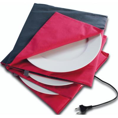 Bordenwarmer rood/antraciet Ø 32cm (Type 852)