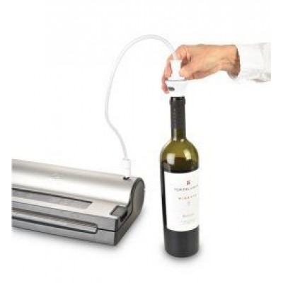Vacuum Wijnfles Stopper (2 St,) Solis