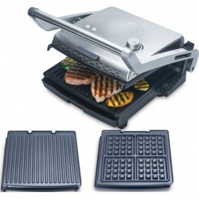 Grill & More + waffel (Type 7952) Solis