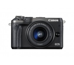 EOS M6 Zwart + 15-45mm IS STM Canon