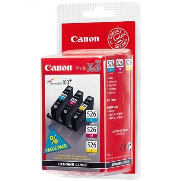 Canon Inktpatronen Inktpatroon CLI-526 Multipack