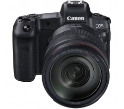 EOS R + EF to RF adapter + RF 24-105mm f/4L IS USM Canon